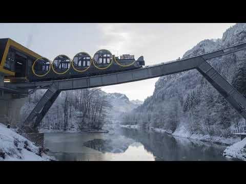 Përurohet treni me trasenë më të pjerrët në botë - Top Channel Albania - News - Lajme