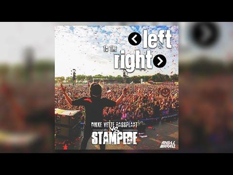 Left To The Right vs Stampede vs Dikke Vette Bassplaat (Crowd Control) (Angel Markez Remake)