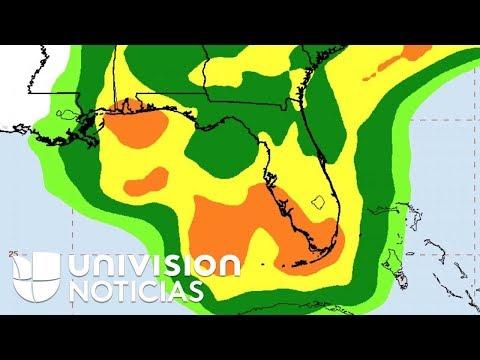 Alberto, la primera tormenta subtropical de la temporada, amenaza con inundaciones este fin de seman