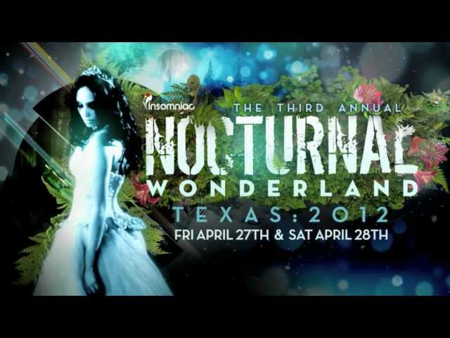 Nocturnal Wonderland Texas 2012 Teaser