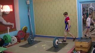 Маклаков Тимур, 14 лет, вк 50 Толчок 70 кг Личный РЕКОРД!