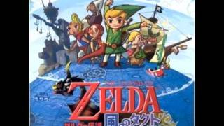 The legend Of Zelda Wind Waker  - Song of Passing (Baton)