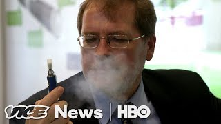Grover Norquist Thinks Vaping Will Make The GOP Cool (HBO)
