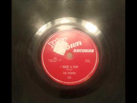 ROBINS - I MADE A VOW - CROWN 106, 78 RPM!