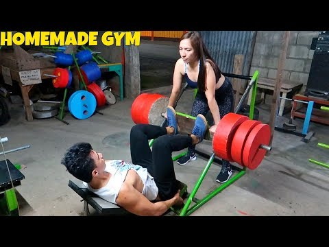 Best Homemade Gym Equipment - Leg Workout
