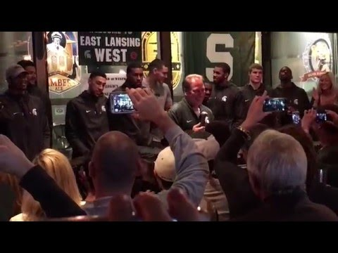 Tom Izzo Part 2 Inspirational Speech MSU Men's NCAA Basketball Team Spartans