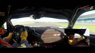 Ferrari 458 Challenge on track