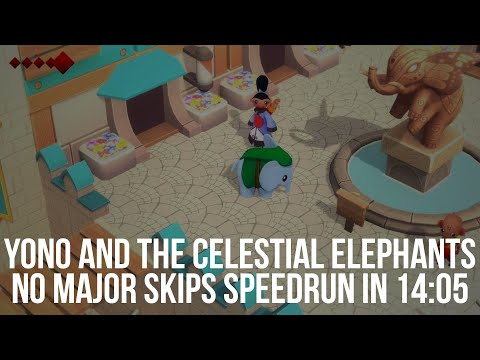Yono and the Celestial Elephants Speedrun   isBullets   NMS in 14:05  