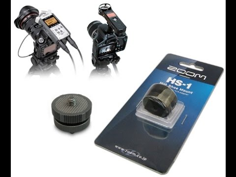 Zoom HS1 Hot Shoe to 1/4-Inch Adapter Review