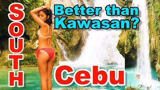 Exploring THE MOST Beautiful Waterfalls in South Cebu | I got hurt!!
