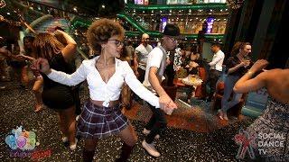 Jariel Garcia & Delia Madera - Salsa Social Dancing | Aventura Dance Cruise - Miami 2018