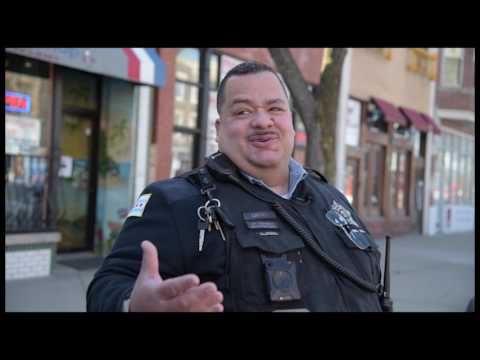 Chicago Police Department's Video Series: Interview with a 14th District Foot Officer