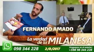 FERNANDO AMADO ES UN MERCENARIO - La Verdad de la Milanesa 2/8/2017