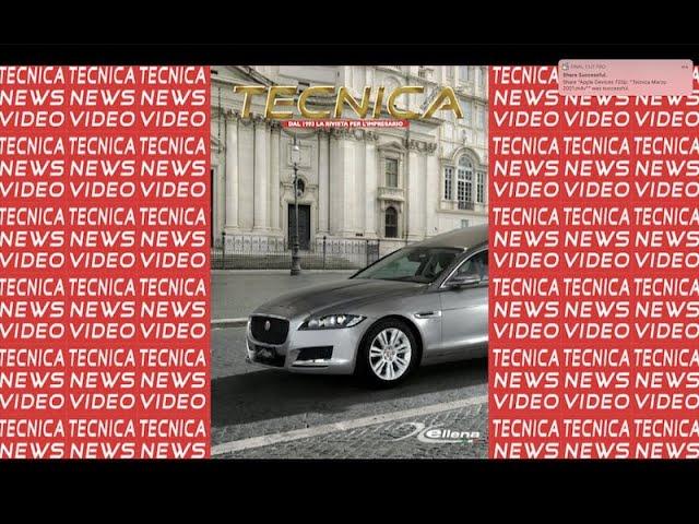 Anteprima Tecnica Marzo 2021 - Tecnicanews Video