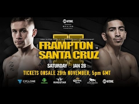 FRAMPTON VS SANTA CRUZ 2 | FIRST PRESS CONFERENCE FROM BELFAST