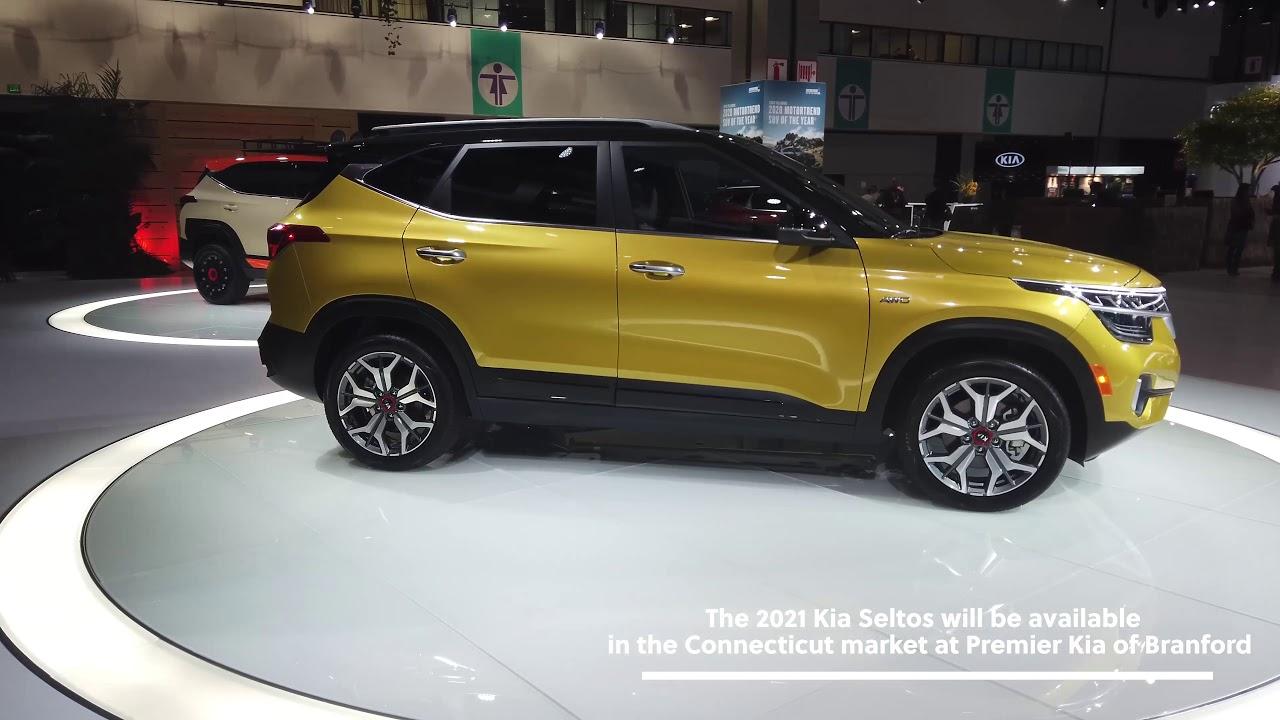 2021 kia seltos unveiled at the los angeles auto show
