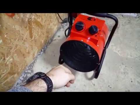 Обзор тепловая пушка в гараж
