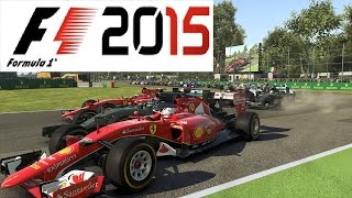 F1 2015 Gameplay Monza Italy HARDEST DIFFICULTY!