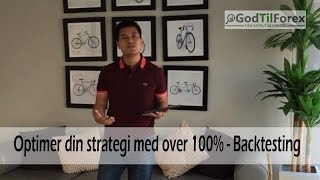 Optimer din strategi med flere 100% vha backtesting