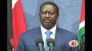 Raila accepts court's decision, Full speech
