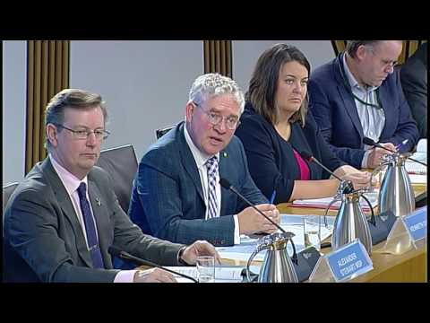 Local Government and Communities Committee - Scottish Parliament: 7th September 2016