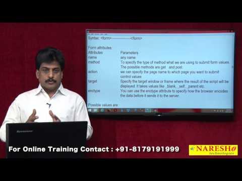 HTML Forms - Part 1   Web Technologies Tutorial   Mr.Subbaraju
