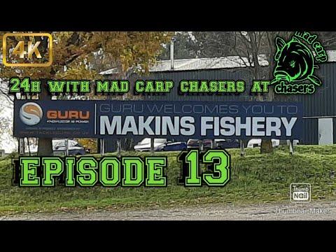 Carp Fishing Episode 13 24h At Makins Fishery