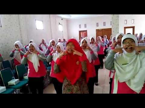 Gernas Baku 5 Mei 2018 Guru luar biasa Himpaudi Ngadirojo Wonogiri di Paud Fatimah, Baki Sukoharjo J