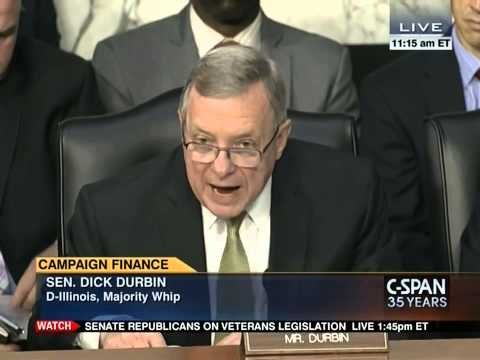 Senate Judiciary Committee Hearing on Campaign Finance Constiutional Amendment