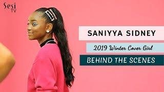 Saniyya Sidney Cover Shoot - Behind the Scenes