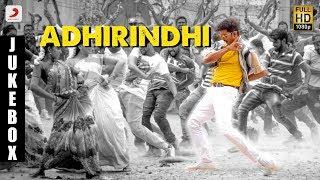Adirindhi - Telugu Jukebox | Vijay | A R Rahman | Atlee