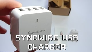 Syncwire USB Charger - The BEST USB CHARGER EVER?!?!