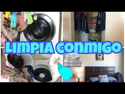 LIMPIA CONMIGO// RUTINA DE LIMPIEZA// LIMPIEZA Y ORGANIZACIÓN