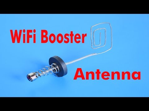 WiFi Booster Antenna very Simple