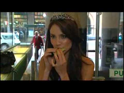 Miss Universe Australia contestant accused of being too skinny.(Please express your views)..