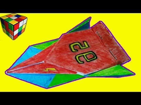 Классная гонка! Как сделать машинку из бумаги! Оригами своими руками!