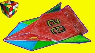 Классная гонка! Как сделать машинку из бумаги! Оригами своими руками!(Учимся рукоделию! Классная машинка своими руками! Видео научит вас как сделать гонку оригами из бумаги..., 2015-10-30T21:41:42.000Z)