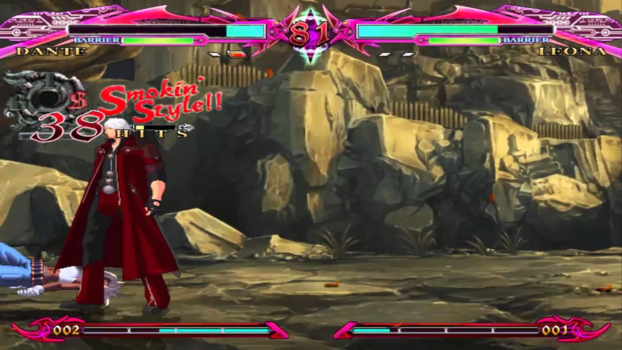 MUGEN Char Dante DMC4 COMBO VIDEO - YouTube