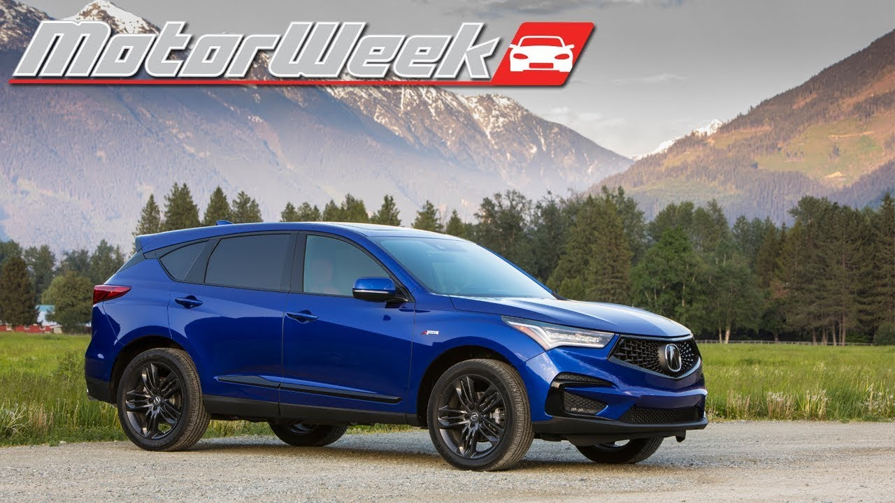 2019 acura rdx first drive youtube