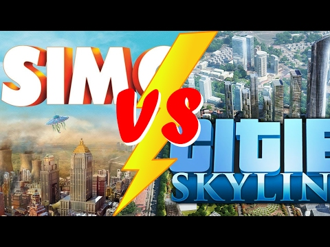 SimCity vs Cities Skylines [PL]+[HD]