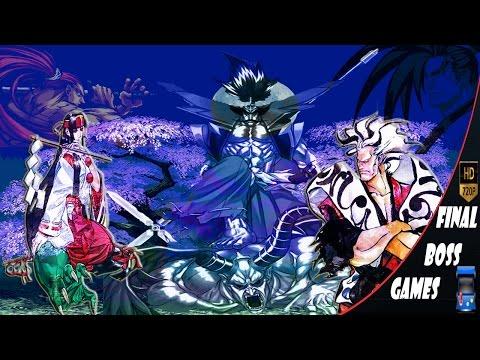 Samurai Shodown | 1-2-3-4-5-6 | All Final Bosses