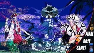 Samurai Shodown | 1-2-3-4-5-6 | All Final Bosses