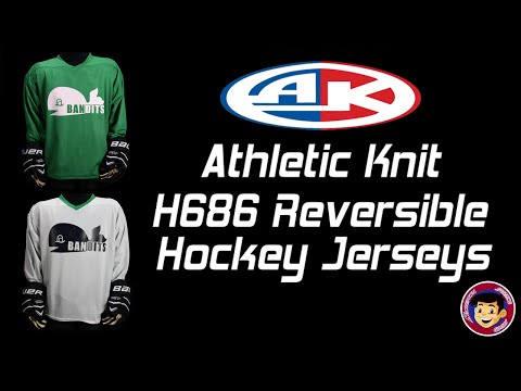 buy popular 998a4 2c766 Athletic Knit H686 Reversible Hockey Jerseys - Homegrown Sporting Goods