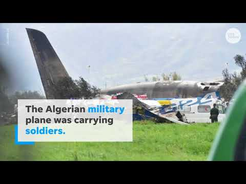 257 people die after military plane crashes in Algeria