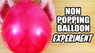 DIY Easy Science Experiment | Amazing Science Experiments | Non Popping Balloon Experiment