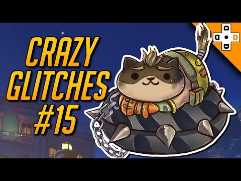 Overwatch CRAZY GLITCHES & BUGS #15 - Highlights Montage