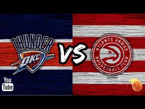 OKLAHOMA CITY THUNDER X ATLANTA HAWKS MELHORES MOMENTO 07.10.2018 PRÉ-TEMPORADA NBA