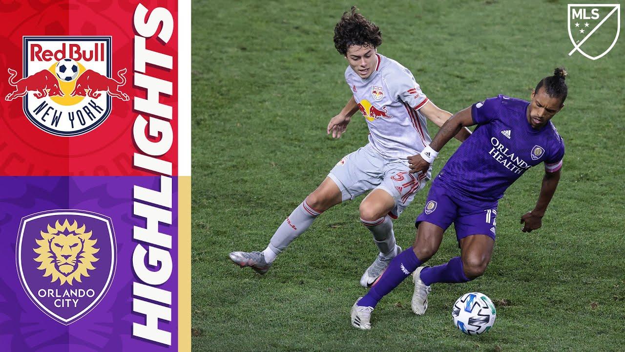 New York Red Bulls vs Orlando City SC   October 18, 2020   MLS Highlights