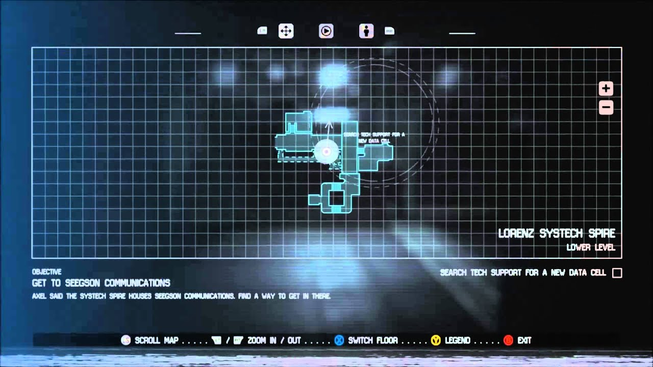 Alien Isolation Find a Data Cell for the Security Access Tuner