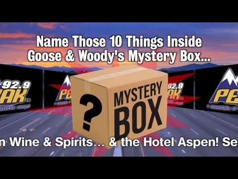 92.9 Peak-FM - Mystery Box Contest